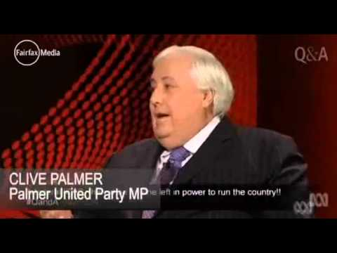 Clive Palmer goes ape at Chinese