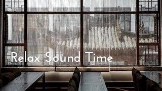Japan Rain sound from the window / Thunder & Rain Sounds for sleep and meditation.