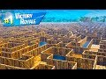 Worlds Biggest IMPOSSIBLE MAZE in Fortnite Battle Royale!