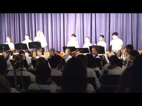 Mikey Winter Band Concert 2019