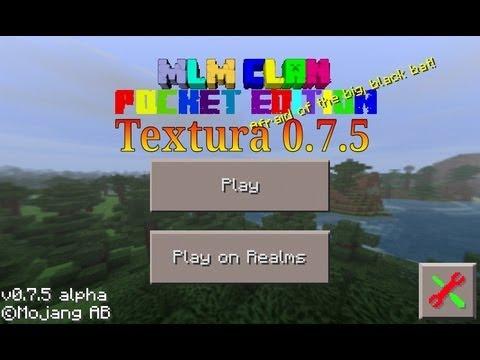 MLM Clan Textura|Minecraft Pe 0.7.5|