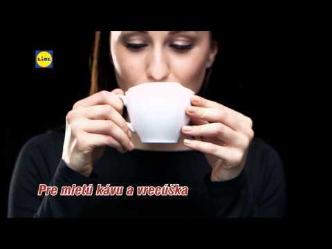 Reklama Lidl - Kávovar a mixér - od 26.11