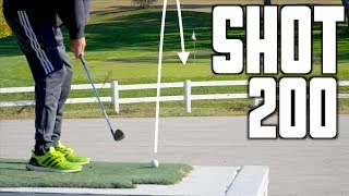 Hole In One Challenge Off a Trailer | GM GOLF