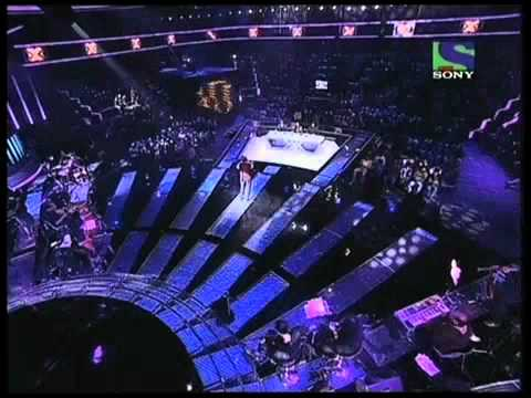 X Factor India - Kartar Singh attempts a hit from KK -- Haan...