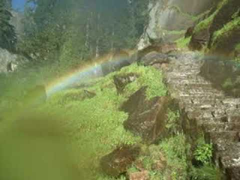 Complete Double Circle Rainbow Vernal Falls Yosemite July 2010 B