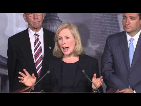 Gillibrand Leads Bipartisan Senate Coalition to End Military Sexual Assault