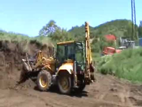 MASSEY FERGUSON 965 backhoe loader