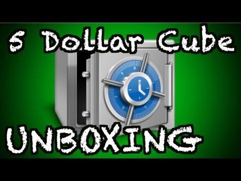 5 Dollar Cube #6 series