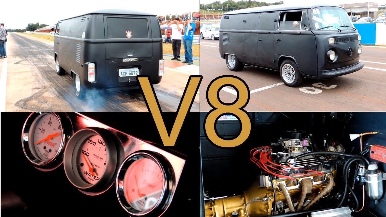 Volkswagen Kombi V8 440 Cv 1080p Hd Youtube