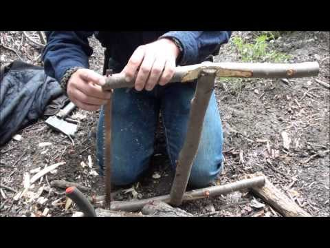 Make A Bushcraft Bucksaw