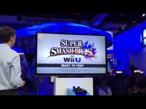 Super Smash Bros. U: Sakurai as Megaman vs. Mario