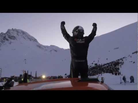 Tignes 2013 - First backflip live by Guerlain Chicherit