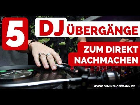 5 DJ Übergänge zum direkt nachmachen für Anfänger 🎧 Virtual DJ Tutorial | Mixen lernen