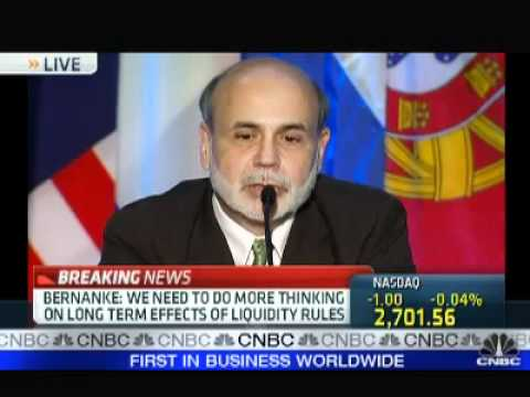 Jamie Dimon Questions Ben Bernanke on New Bank Rules