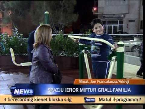 Inawgurat il-Qormi Sports and Fitness Park (Frar 2013)