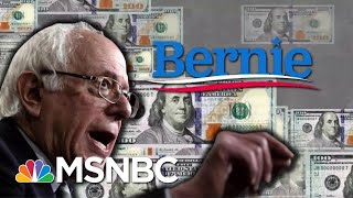 Bernie's 2020 Campaign Is Off To An Impressive Start | MTP Daily | MSNBC