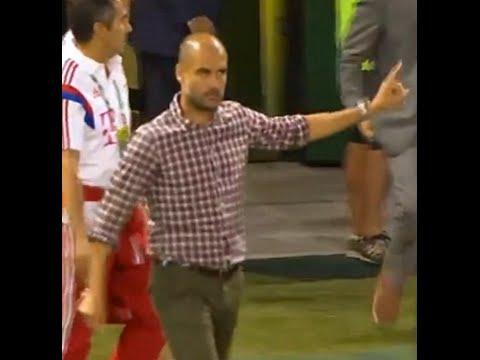 Pep Guardiola negó el saludo a Caleb Porter