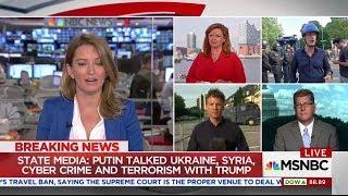 Putin Talked Ukraine, syria, cyber crime and terrorism with trump
