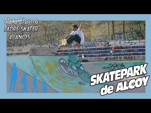 SKATEPARK DE ALCOY, un skate park con mucho engorile
