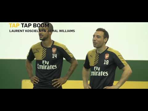 Arsenal FC & London Lions in Betfair's Tap Tap Boom Challenge