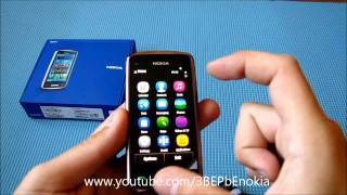 Обзор Nokia C6-01 Brown