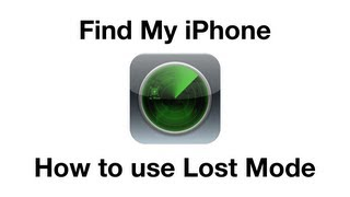 How to use Find My iPhone (Lost Mode)