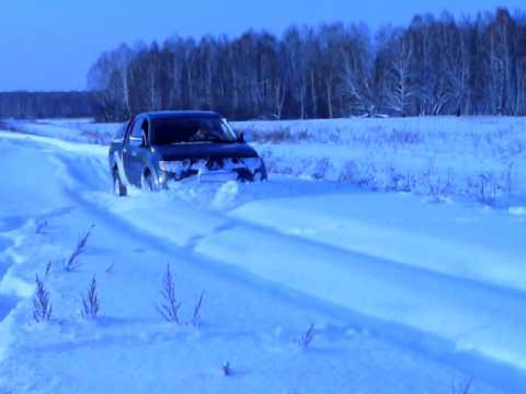 Mitsubishi l200, снег, зима