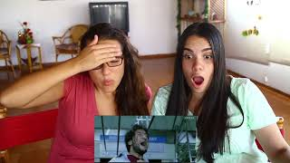 Wanted | Salman Khan | Train fight scene Reaction by Latinas (Irene and Maria)