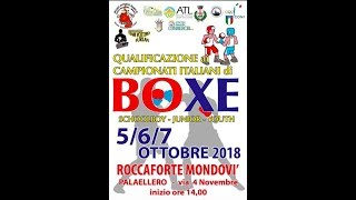 Torneo di Qualificazione Campionati Italiani Youth-Junior-Schoolboy 2018 FINAL DAY