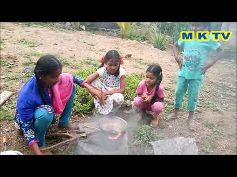 Onion pakodi | M K TV VILLAGE FOOD