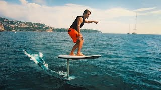 ELECTRIC HYDROFOIL SURFING IN MONACO!| VLOG³ 59