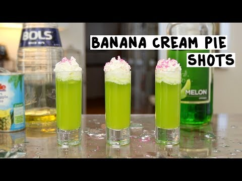 Banana Cream Pie Shots