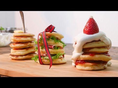 作ってあげたいパンケーキ – クリスマス –