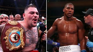(WOW!!) ANDY RUIZ DUCKING ANTHONY JOSHUA REMATCH?? LET'S TALK ABOUT IT