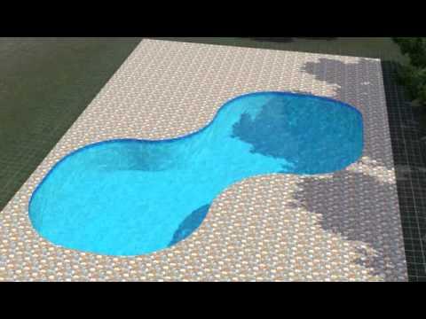Как в симсах сделать фигурный бассейн