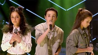 Raphaelle Romy Stijn 39 Never Be Like You 39 Battles The Voice Kids Vtm