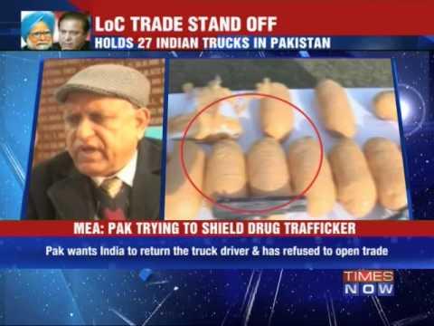 Pakistan halts cross border trade in Kashmir