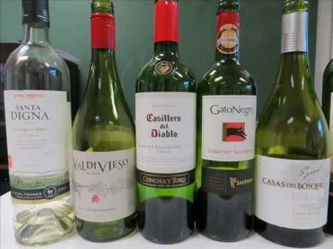 Cata de Vinos Chilenos en España