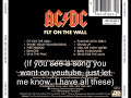 Playing With Girls - AC/DC