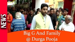 Latest Bollywood News - The Bachchan Family Attend Durga Pooja - Bollywood Gossip 2016
