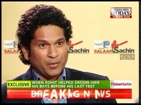 Sachin Tendulkar talks about best and worst moments of his career