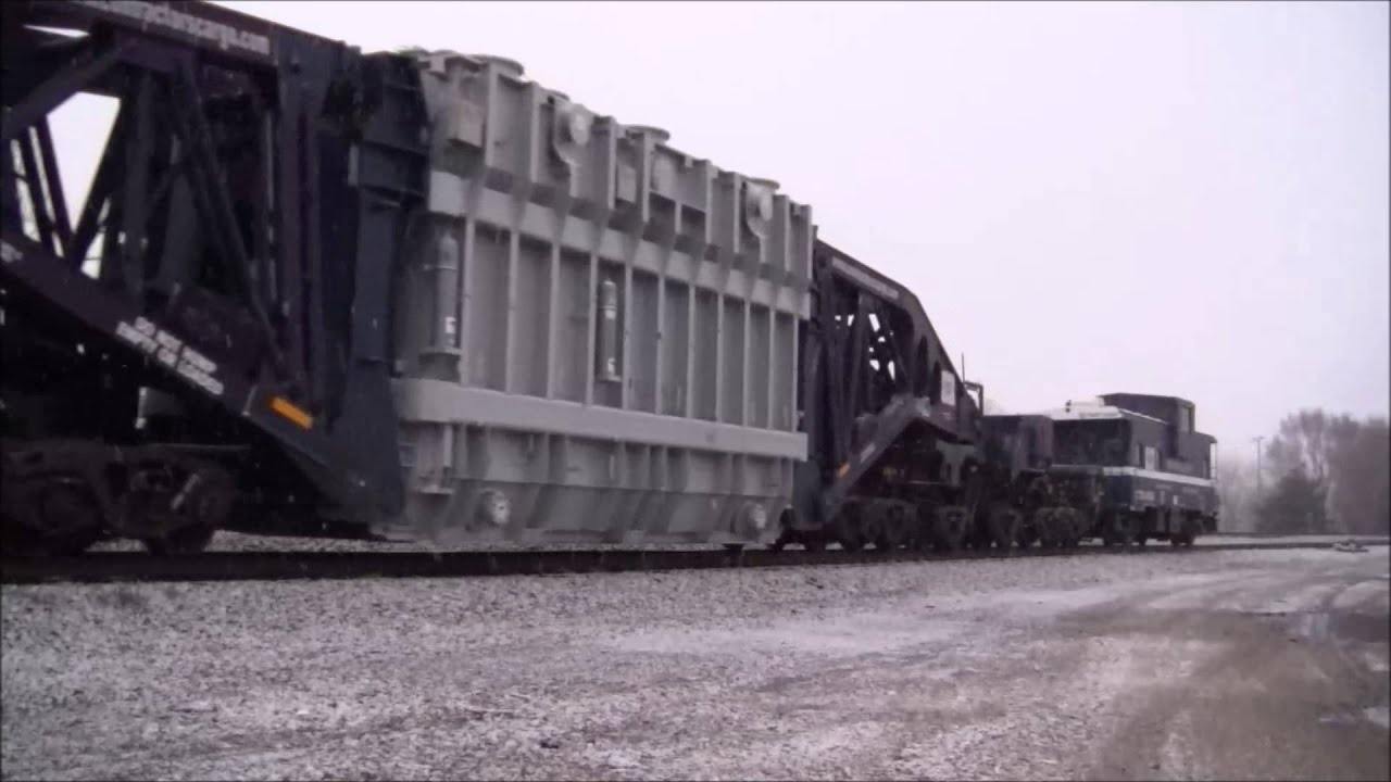 CSX Train W991-25 with a High & Wide Load on a Schnabel ... | 1920 x 1080 jpeg 118kB