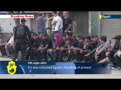 UN Security Council urges Egypt calm: tensions high after over 600 people killed in Cairo clashes