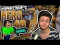 Youtube Thumbnail PUSSY CONCRAFTER (Meine Meinung) | Minecraft HERO #48 | Dner