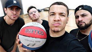 THE YOUTUBER BASKETBALL CHALLENGE!!