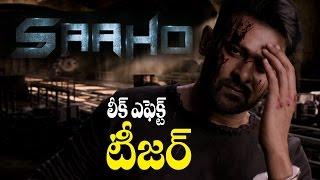 Prabhas Saaho Movie Teaser Today 5Pm