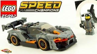 McLaren Senna Une voiture LEGO Speed Champions de fous J'en reviens pas 75892 Jouets