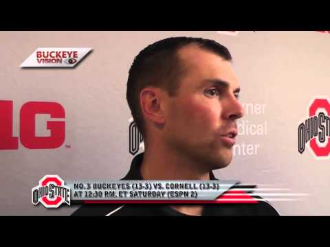 MLAX: Coach Myers Previews NCAA Quarterfinal vs. Cornell