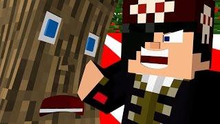 COMO ESPANCAR UMA ÁRVORE?! - Minecraft
