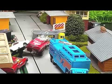 Toy Car Crash Compilation